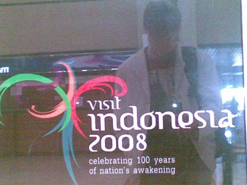Outdated Indonesian tourism (2010 photo)