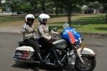 Jakarta's Harley copper chicks