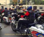 Polwan BM pakai Harley