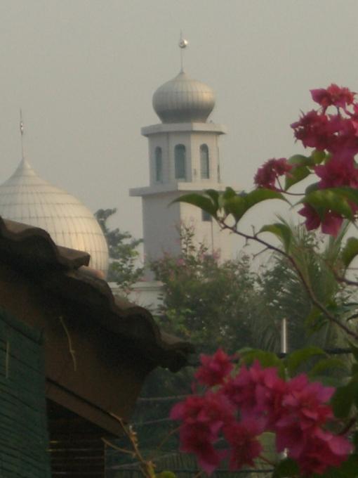 Mantan Mesjid Tangkuban Perahu Sayid Ali Ahmad Shahab
