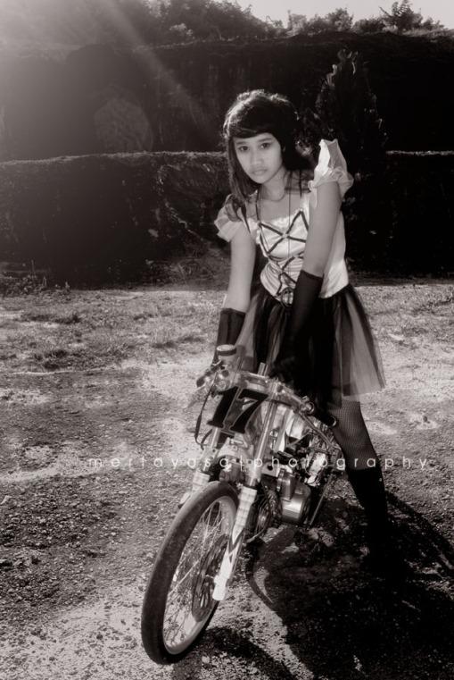 Anak Bali jadi fotomodel