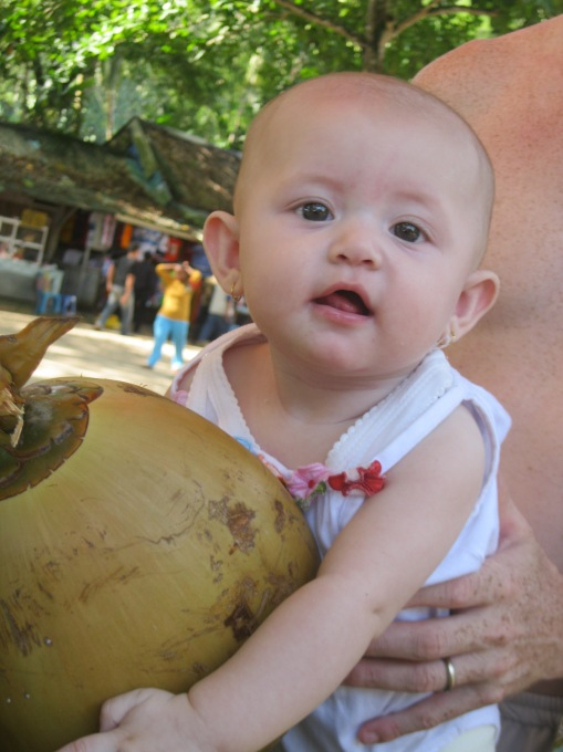 Vada & the coconut