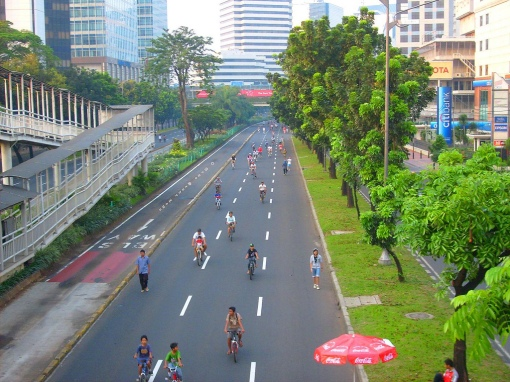 Photo of Car Free Day Jakarta, by Argo Sendy Lawu