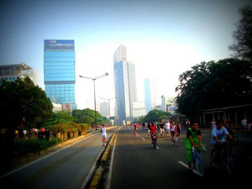 Photo of Car Free Day in Jakarta from Sudutpandangedward33 blog at blogspot